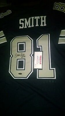 ff549bcfed3 JACKIE SMITH signed Dallas Cowboys jersey, Tristar certed HOF inscription