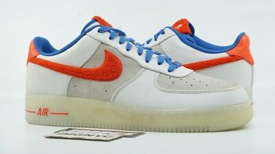 timeless design a65da 94ff0 Nike Air Force 1 Low Used Size 14 Yotr Rabbit White Crimson Royal 318988 100