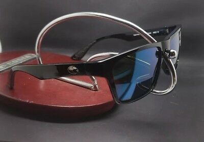 6ad93da365 Costa Del Mar Hinano HNO-11 Black Frame Blue Mirror 580G Glass Polarized