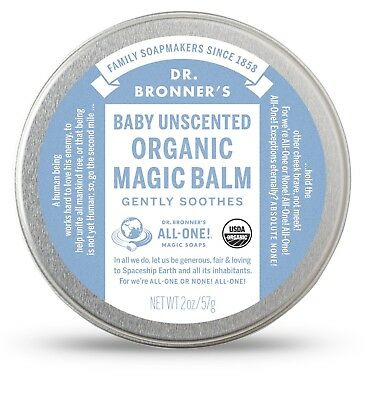 Dr Bronner's Organic Magic Balm 57g Baby Unscented bronners