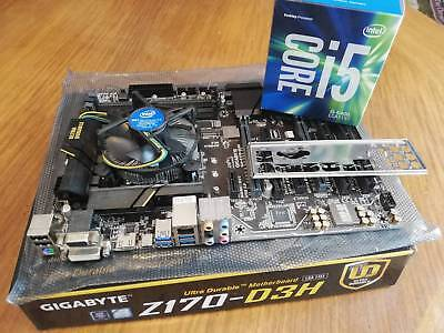 CPU and Motherboard combo ( Intel: i5-6400 + Gigabyte Z170-D3H )