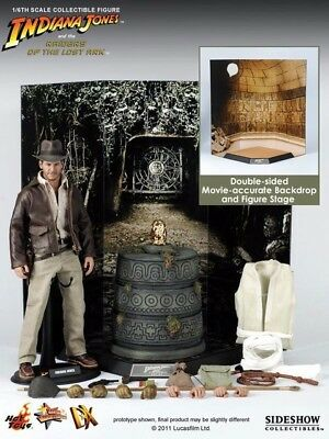 Hot Toys Dx05 Indiana Jones Raiders Of The Lost Ark Moviemaster Piece