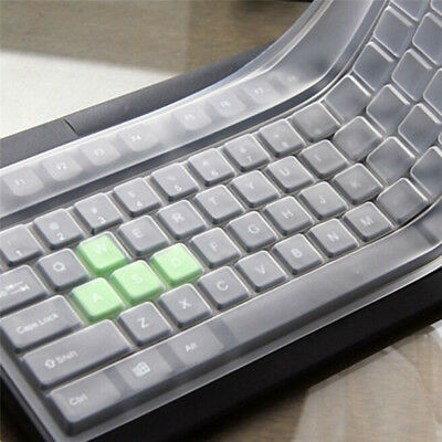 2pcs Universal Silicone Desktop Computer Keyboard Cover Keyboard Protector A33X