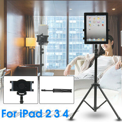 Tripod Stand Camera Holder Bracket Mount Adjustable Cradle For iPad iPhone Nikon