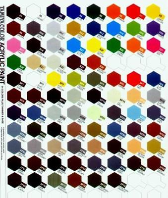 Tamiya Color X1 To X29 Gloss Acrylic Paint Model Kit Varnish Oil paint -10ml