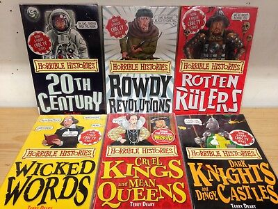 Horrible Histories Specials: collection of 6 children's books