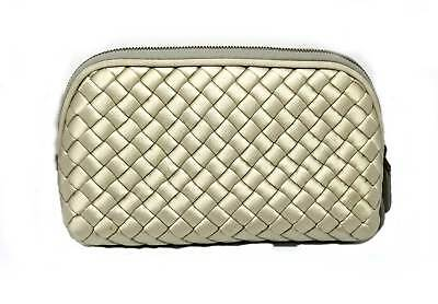 Authentic Bottega Veneta Pouch Cosmetic Case Cosmetic Pouch Satin 132534  Outlet 3c51f45347461