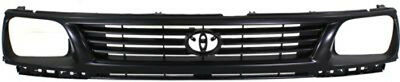 CPP Black Grill Assembly for 1995-1996 Toyota Tacoma Grille