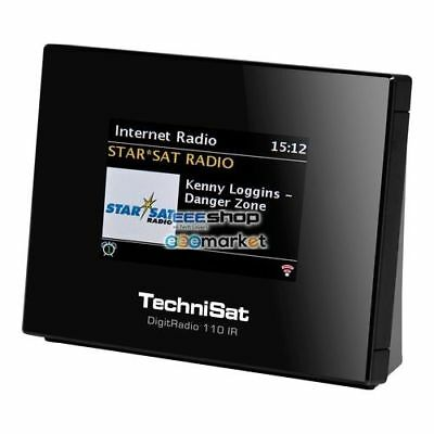 TechniSat 0010/4958 DigitRadio 110 IR radio Internet Digital Black Tuner -