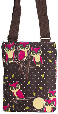 Owl Womens Teens Mini Crossbody Bag Handbag Purse Small Little Cross Body