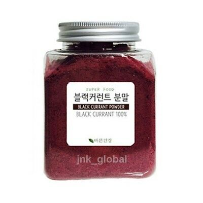 100% Natural Freeze Dried Black Currant Powder 0.44lb SuperFood 200g
