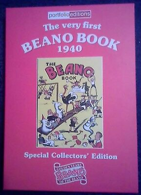 Portfolio Editions The very first BEANO BOOK 1940 Special Collectors' Edition