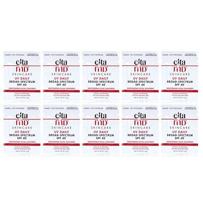 Elta MD UV Daily Broad Spectrum SPF 40 0.07oz/2g SAMPLE SET OF 10