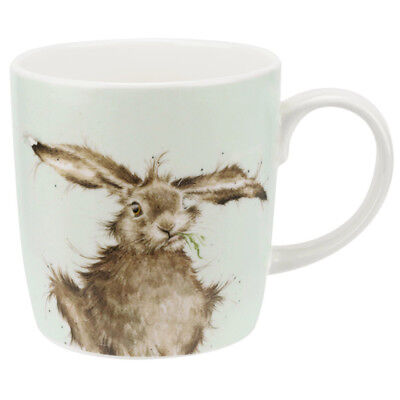 Royal Worcester Wrendale Hare Brained Fine Bone China Mug