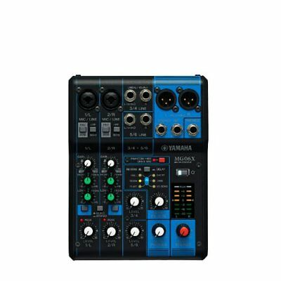 Yamaha 6 Channel Analog Mixing Console Digital Effect MG06X EMS Shipping NEW