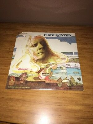 JOHNNY WINTER First Winter LP ORIGINAL 1969 1st Press BUDDAH Records SEALED RARE