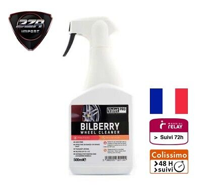 Valet Pro BILBERRY Wheel Cleaner 500ml Nettoyant Jante valetpro