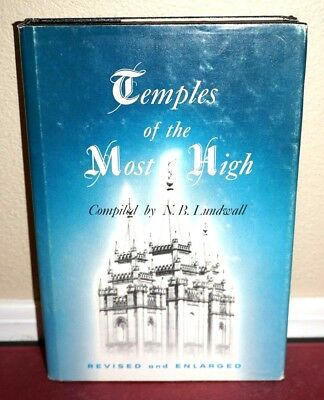 Rare Mormon Temple History Symbolism Illustrations LDS Temples of the Most High