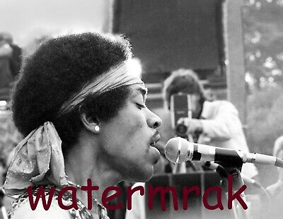Rare Live Candid Photo at the First Woodstock Aug 15th, 1969 Publicity Photo