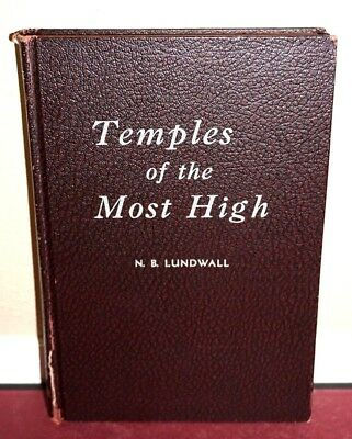 Temples of the Most High By N.B. Lundwall Geometric Symbols 1947 Enlarged Mormon