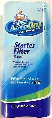 Mr Clean Auto Dry 3 Uses Starter Filter Car Wash Cartridge NEW
