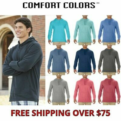 Comfort Colors Unisex French Terry Scuba Hoodie Mens Womens S-3XL 1535