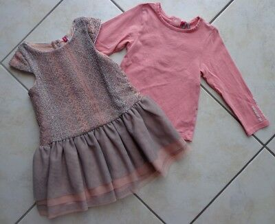 734a9bf2bd3ec ORCHESTRA - ROBE Jeans Coton Bebe Fille Taille 23 Mois – Tbe!! - EUR ...