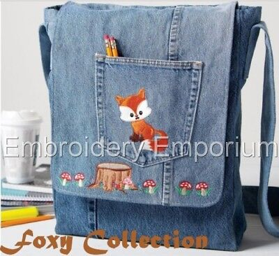 Foxy Collection - Machine Embroidery Designs On Cd Or Usb