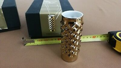 Genuine mini-vaso Vibrations gold Rosenthal Studio-line Edizione limitata t1