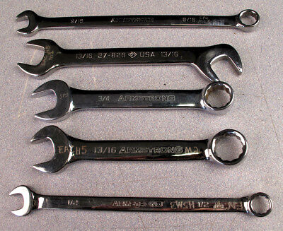 Armstrong Tools 5Pc. Assorted Wrench Lot