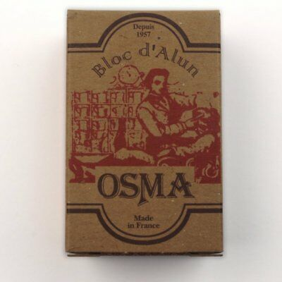 Osma After Shave Alum Stick Styptic Block 75g facial toner Potassium Alum Omega