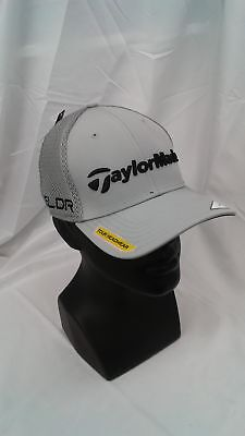 NEW TAYLORMADE GOLF Tour Cage Golf Hat White Large X-Large L XL SLDR ... 9e49cacc65bb