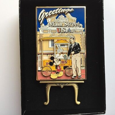 Passholder Exclusive Dining - 50th Anniversary Main St. Popcorn Disney Pin 40046