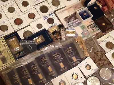 Rare Gold, Silver, Rare Coin and Currency Lot