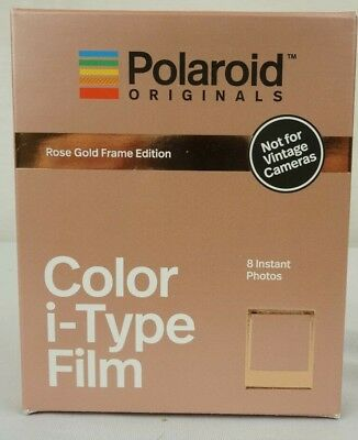 POLAROID ORIGINALS ROSE GOLD Frame Edition Instant Color Film US ... 788a38a5af5e