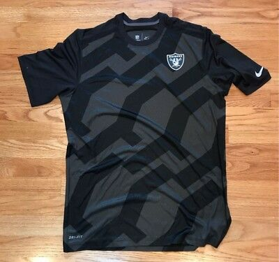 Nike Dri-Fit On-Field Oakland Raiders shirt - only given to staff; NEW!