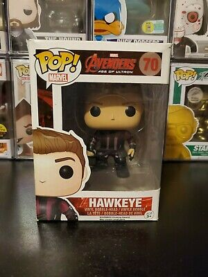 Funko Pop! Marvel Avengers Age of Ultron Hawkeye #70 Vaulted WITH PROTECTOR!