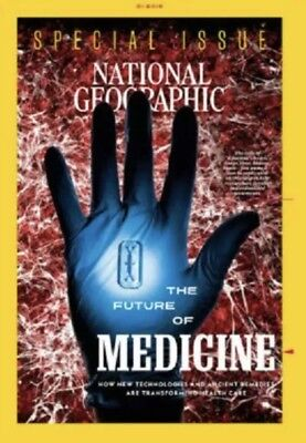 National Geographic Magazine - January 2019 Issue The Future of Medicine - NEW