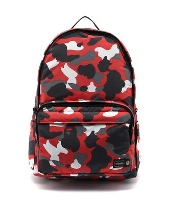cc5003d03688 A BATHING APE PORTER Collaboration WARM UP CAMO DAYPACK Backpack NEW jp