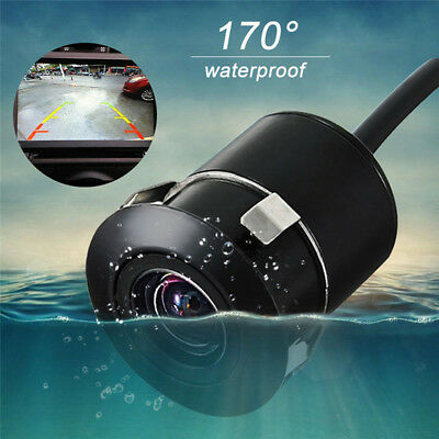 170° Car Rear View Camera Reverse Backup Parking Waterproof Night Vision CCD GY