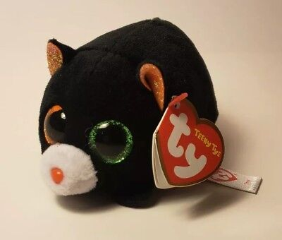 ee15f0c8409 TY Beanie Boos - Teeny Tys Stackable Plush - TREAT the Black Cat (4 inch