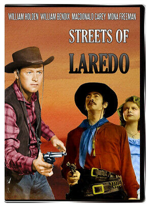 Streets of Laredo 1949 DVD William Holden, William Bendix, MacDonald Carey