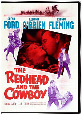 The Redhead and the Cowboy 1951 DVD Glenn Ford, Rhonda Fleming, Edmond O'brien