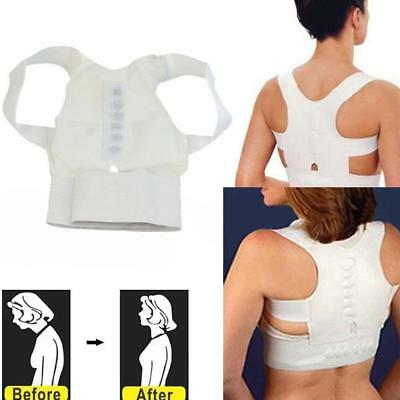 Therapy Back Brace Posture Correction Corrector Clavicle Shoulder Support Spine