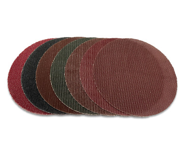 "PRONET 150mm (6"") Sanding Discs - P40-P3000 - Work with Mirka Abranet products"