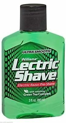 Williams Lectric Shave Electric Razor Pre Shave 88Ml