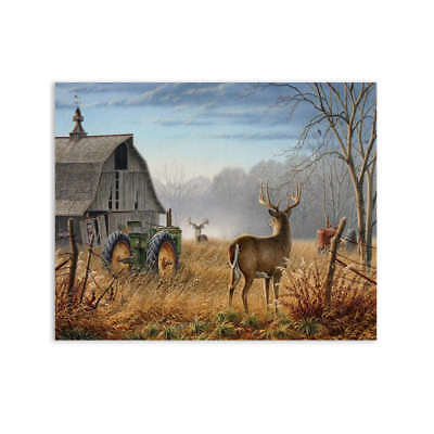 Unframed Deer Modern Art Oil Painting Print Canvas Picture Home Wall Room Decor