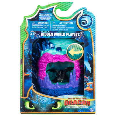 Dreamworks How To Train Your Dragon The Hidden World Playset Toothless
