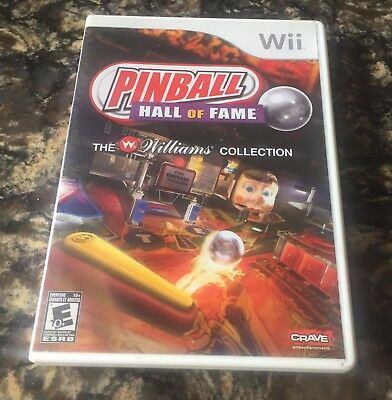 Pinball Hall of Fame: The Williams Collection (Nintendo Wii, Wii U) COMPLETE