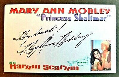 Autographed 3x5 Index Card wrote Songs For Elvis Presley Stan Kesler